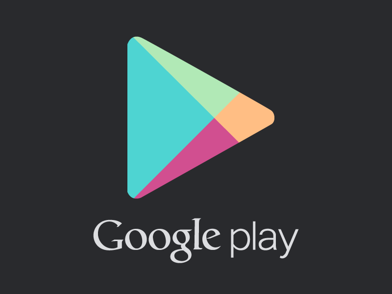 Google Play Logo - Google Play Vector (.AI & .PSD included) by Nick Chamberlin ...