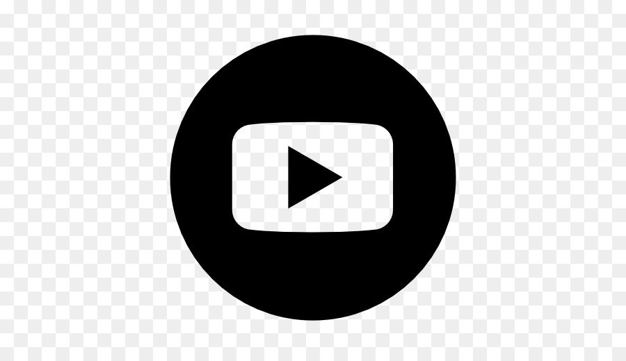 White Youtube Logo Logodix