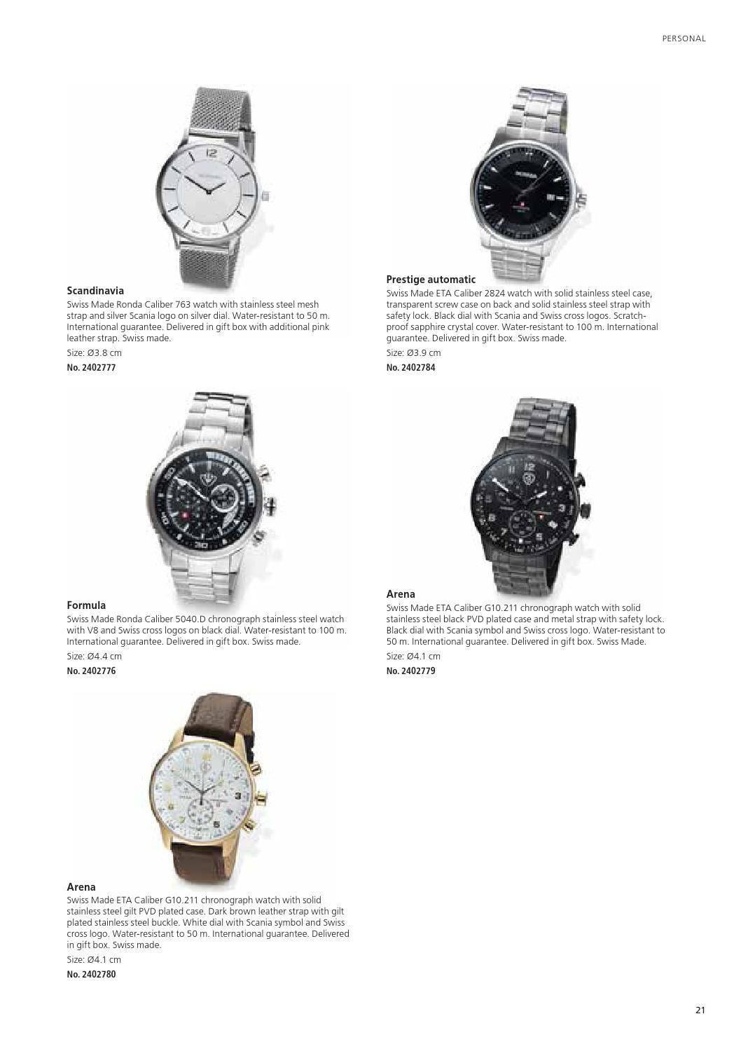 Watch with Cross Logo - Scania Selection 2015 by Scania (Great Britain) Limited - issuu