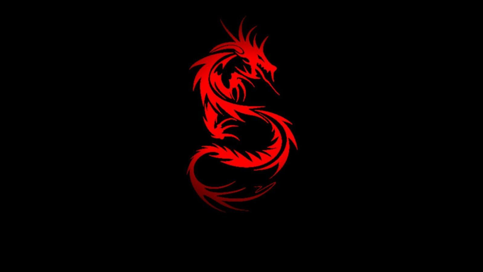 Red And Black Dragon Logo Logodix