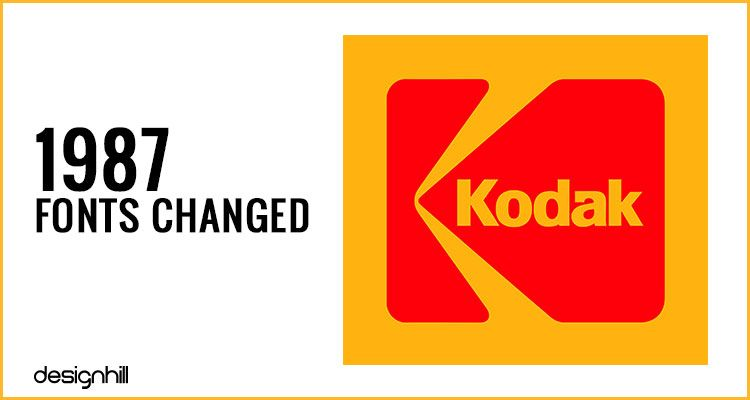 Kodak Logo - History Of Evolution Of The Kodak Logo