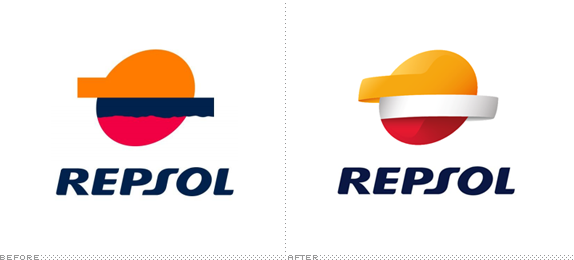 Repsol Logo - Brand New: Let the Repsol Shine in