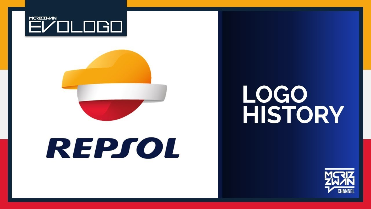 Repsol Logo - Repsol Logo History | Evologo [Evolution of Logo] - YouTube