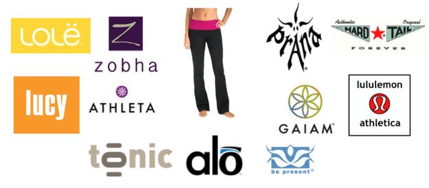Yoga Apparel Logo Logodix