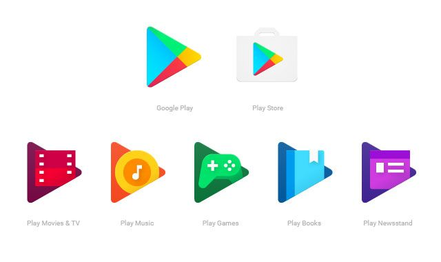 Google Play Logo - Google Play apps are getting more unified logo designs