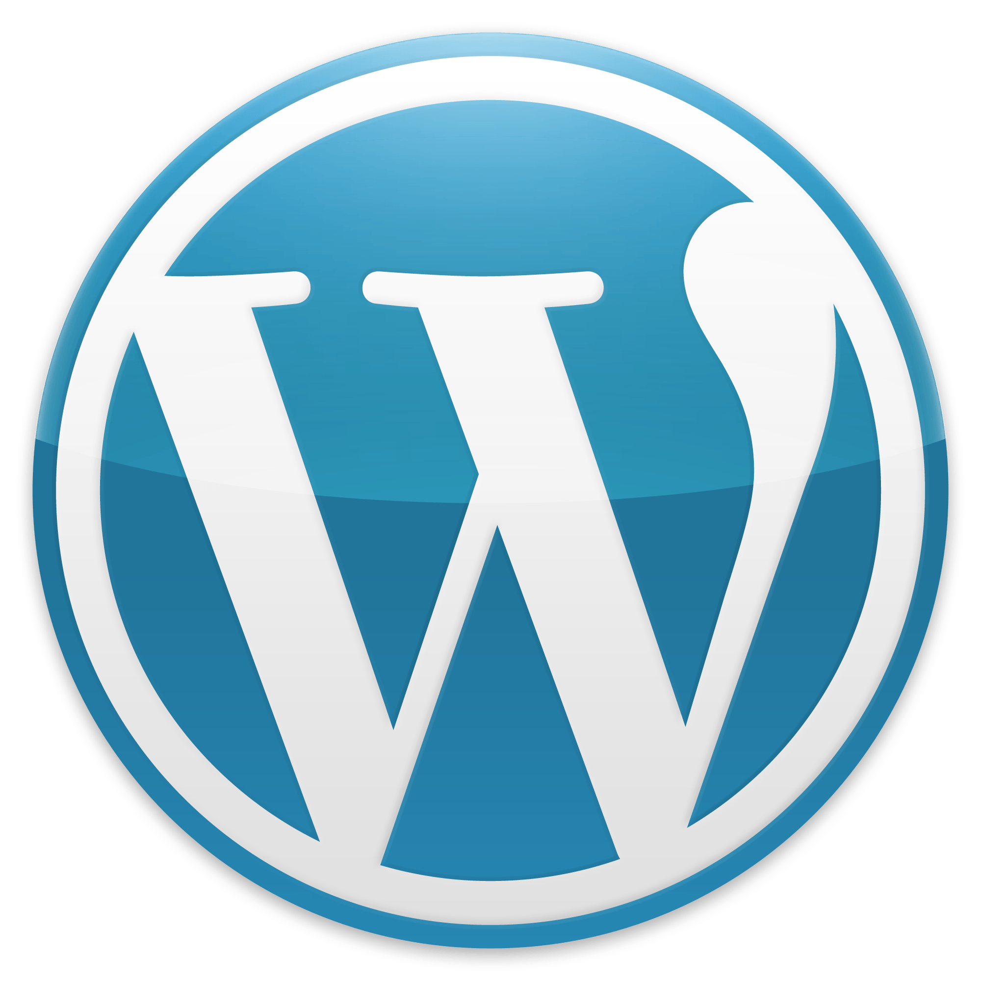 WordPress Logo - File:Wordpress Blue logo.png
