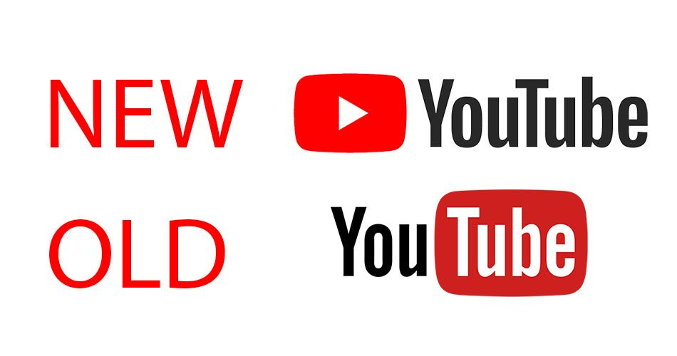 YouTube Logo - YouTube gets a new logo for the first time in 12 years