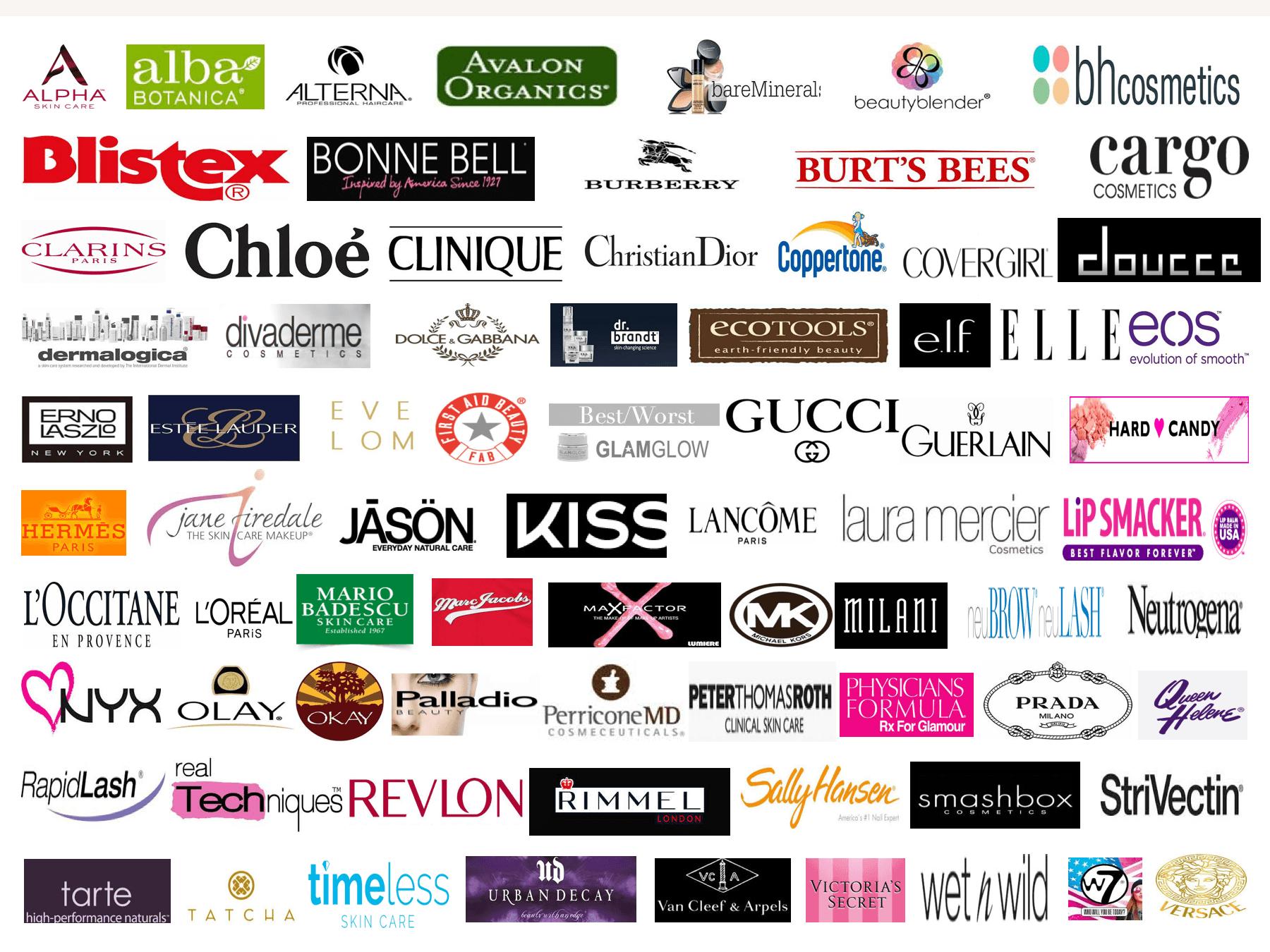 American Makeup Brand Logos | Saubhaya