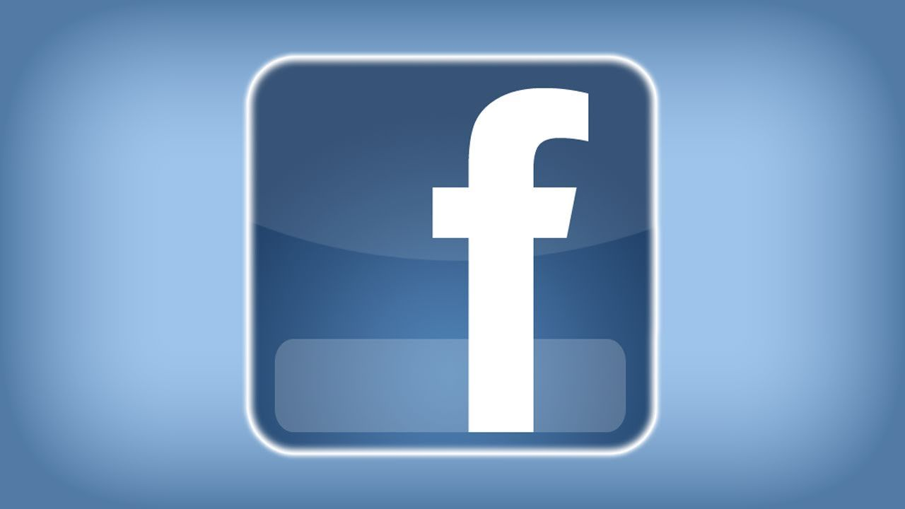 Facebook Logo - Photoshop: Facebook Logo - YouTube
