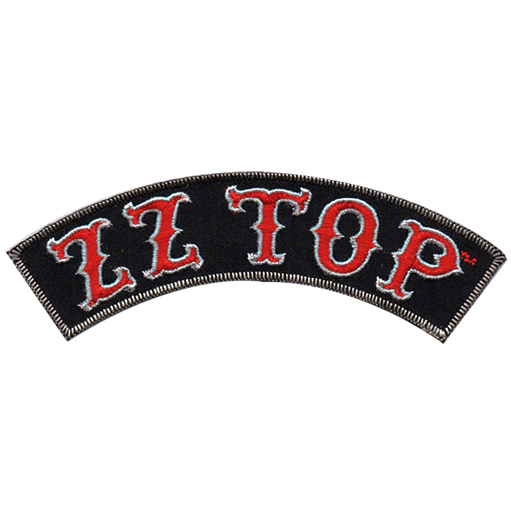 ZZ Top Logo - Arch Logo Patch - ZZ Top Store
