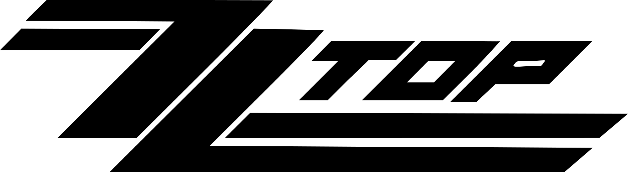 ZZ Top Logo - File:ZZ Top logo.svg - Wikimedia Commons