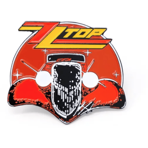 ZZ Top Logo - ZZ Top - Enamel Pin – Speed Clothes