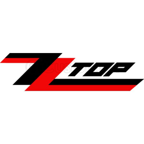 ZZ Top Logo - ZZ Top Logo Red in Black Foam Trucker Hat | Customon.com