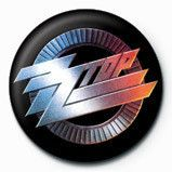 ZZ Top Logo - ZZ TOP - logo Badge | Button | Sold at EuroPosters