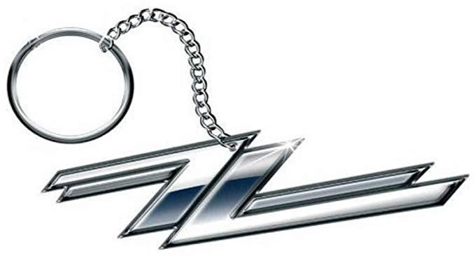 ZZ Top Logo - ZZ Top Keyring Keychain Twin Z's band logo new Official metal One ...