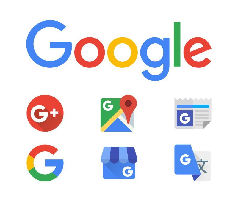 Google Business Logo - New Google logo & icons in vector format – The Graphic Mac
