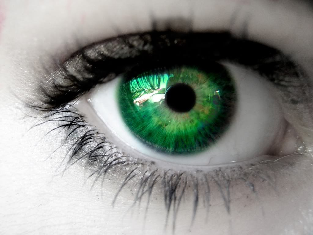 Black and Green Eye Logo - Are Green Eyes Really An Attractive Trait? | SiOWfa16: Science in ...