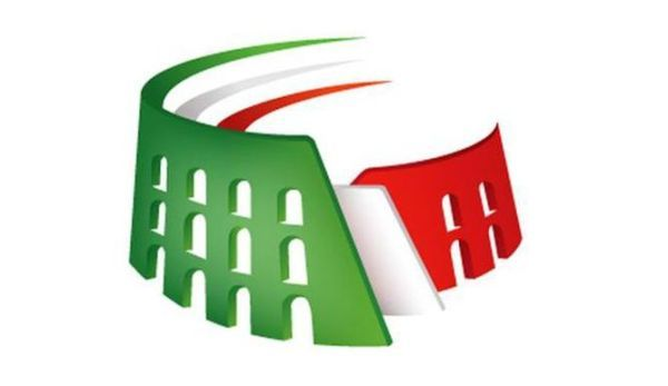 Italian Logo - Colosseum in Colors of Italian Flag in Logo of Rome 2024 Olympics