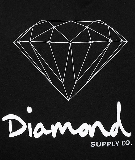 45a30d209ba6 Diamond Supply Co-Logo Logo - Diamond Supply Co OG Sign Hoodie   Zumiez