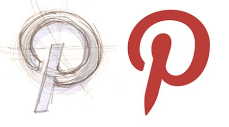 Pinterest Logo - What we learned from the Starbucks, Pinterest, and Mailchimp logo ...