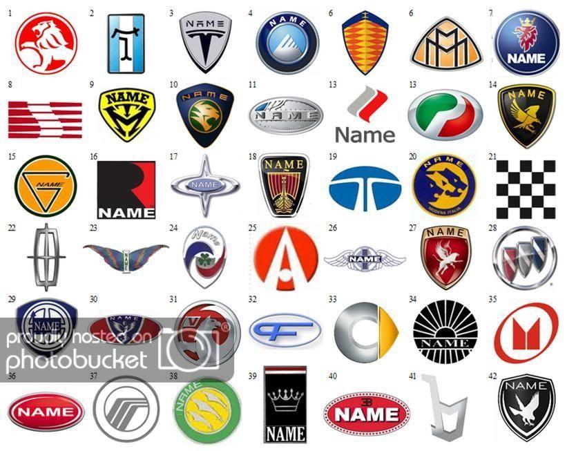 Car Manufacturer Logo Logodix