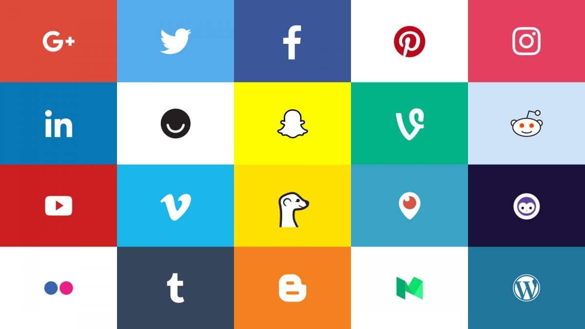 Logo social media t 25+ Best