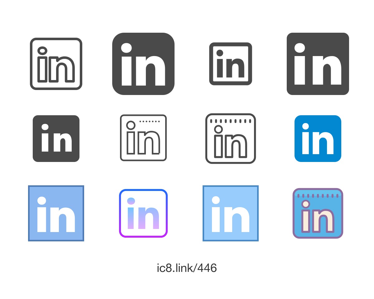 LinkedIn Logo - LinkedIn Icon - free download, PNG and vector