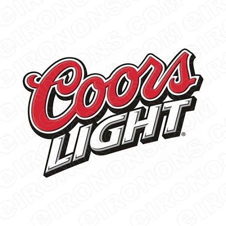 Coors Logo - COORS LIGHT LOGO ALCOHOL T-SHIRT IRON-ON TRANSFER DECAL #ACL2 | YOUR ...
