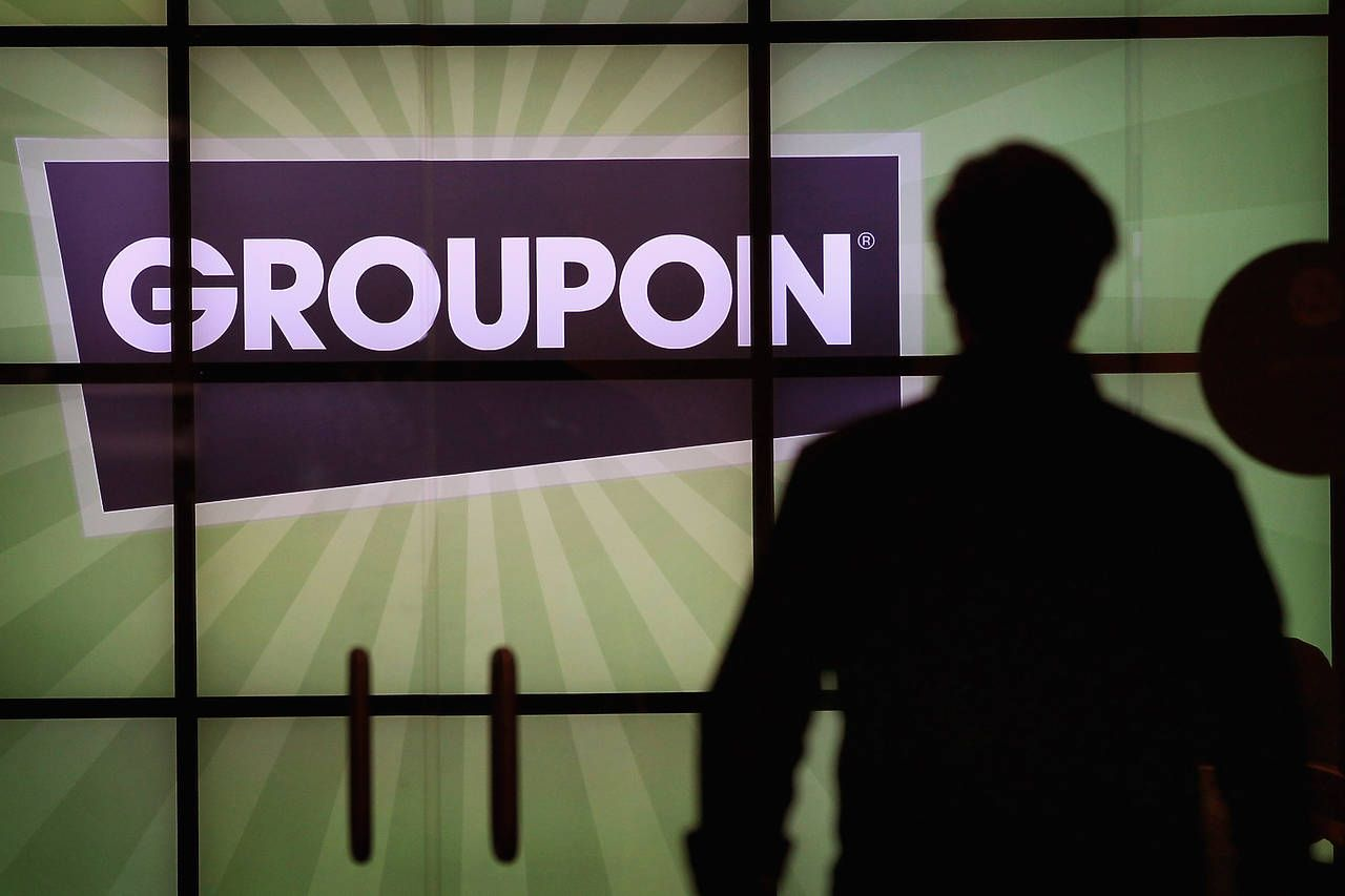 Groupon Logo - A Snap Back to Reality for Groupon Investors - Barron's