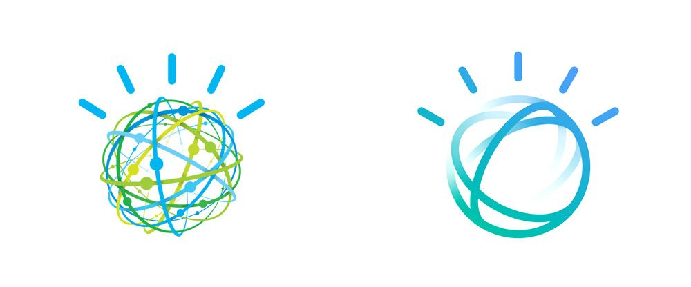 IBM Watson Logo - Brand New: New Logo and Identity for IBM Watson done In-house (with ...