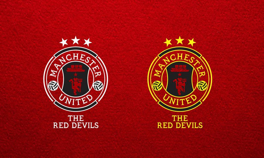 Red Devil Manchester United Logo Logodix