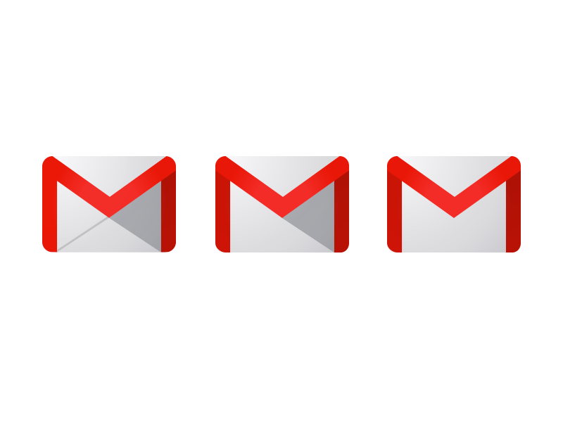 Gmail Logo - Gmail Logo Refinements by Chanpory Rith | Dribbble | Dribbble