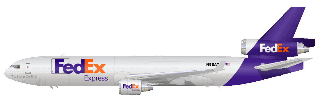 Fedex Plane Logo Logodix