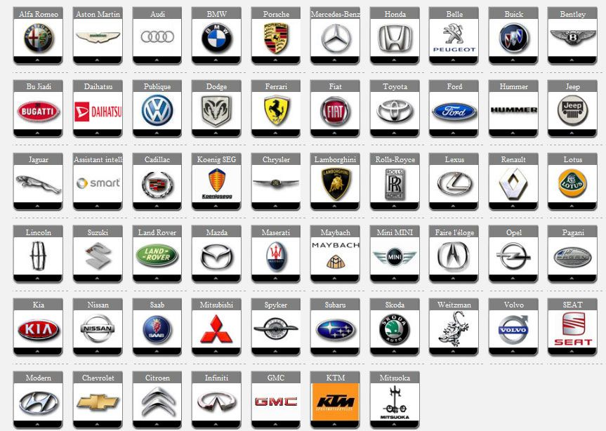 Famous Vehicle Logo Logodix