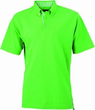 mens lime green polo shirt