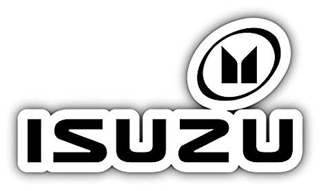 Isuzu Logo - Amazon.com: Isuzu Logo Auto Car Bumper Sticker Decal 14'' X 7.5 ...