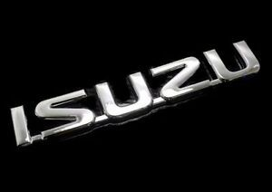 Isuzu Logo - ISUZU 3D CHROME EMBLEM LOGO BADGE TROOPER TFR RODEO DMAX AMIGO ...