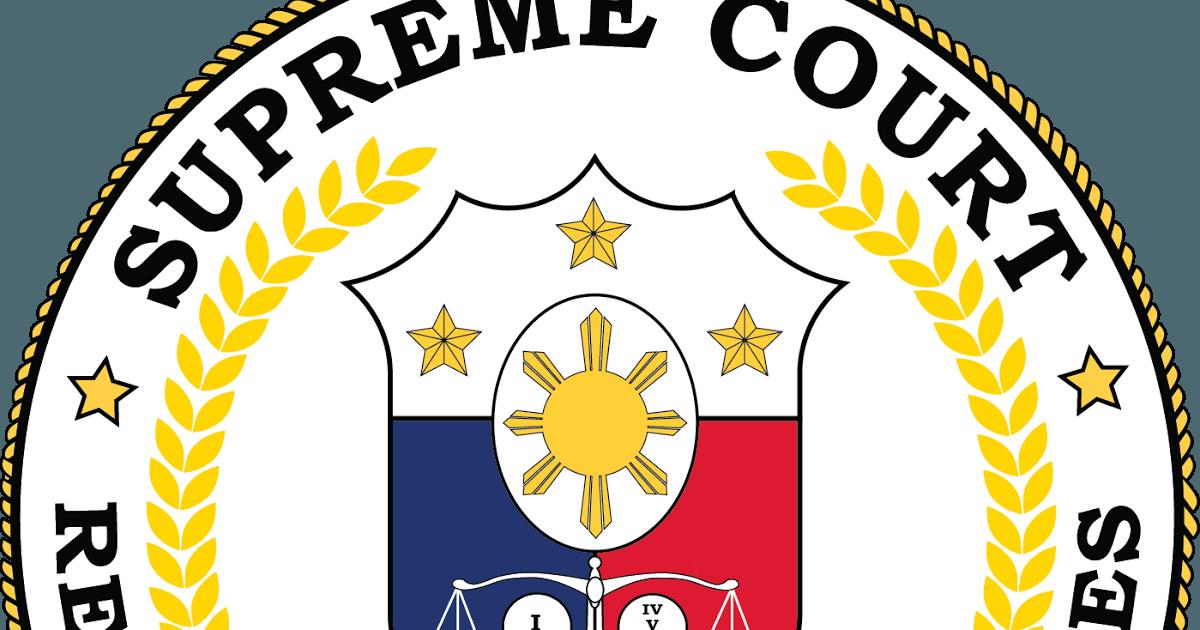 Philippine Supreme Court Logo - LogoDix