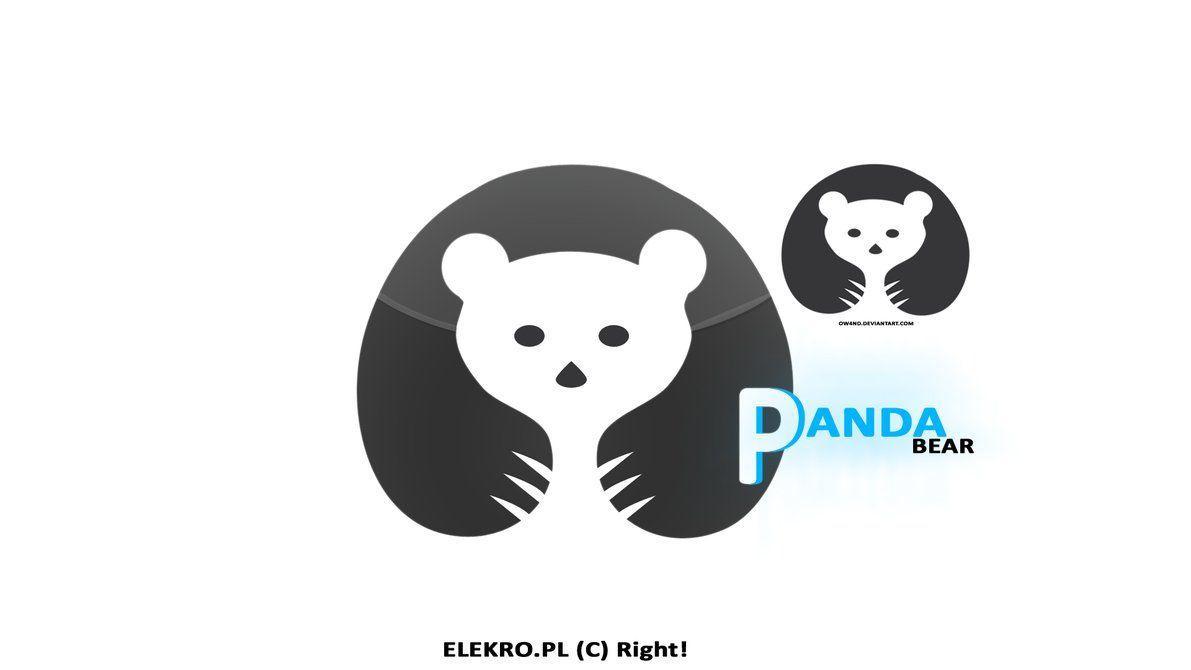 Panda Bear Logo   LogoDix