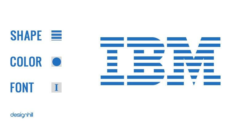 IBM Logo - IBM Logo Design– Simple Logo Type To Express Speed And Dynamism