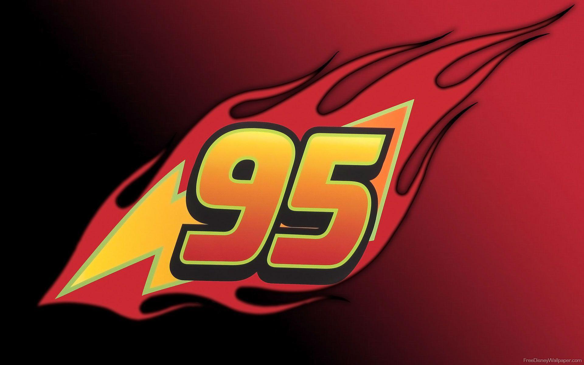 Cars Lightning Mcqueen 95 Logo Logodix