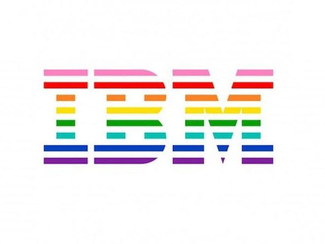 IBM Logo - IBM Introduces New Rainbow Logo To Show Solidarity With LGBT ...