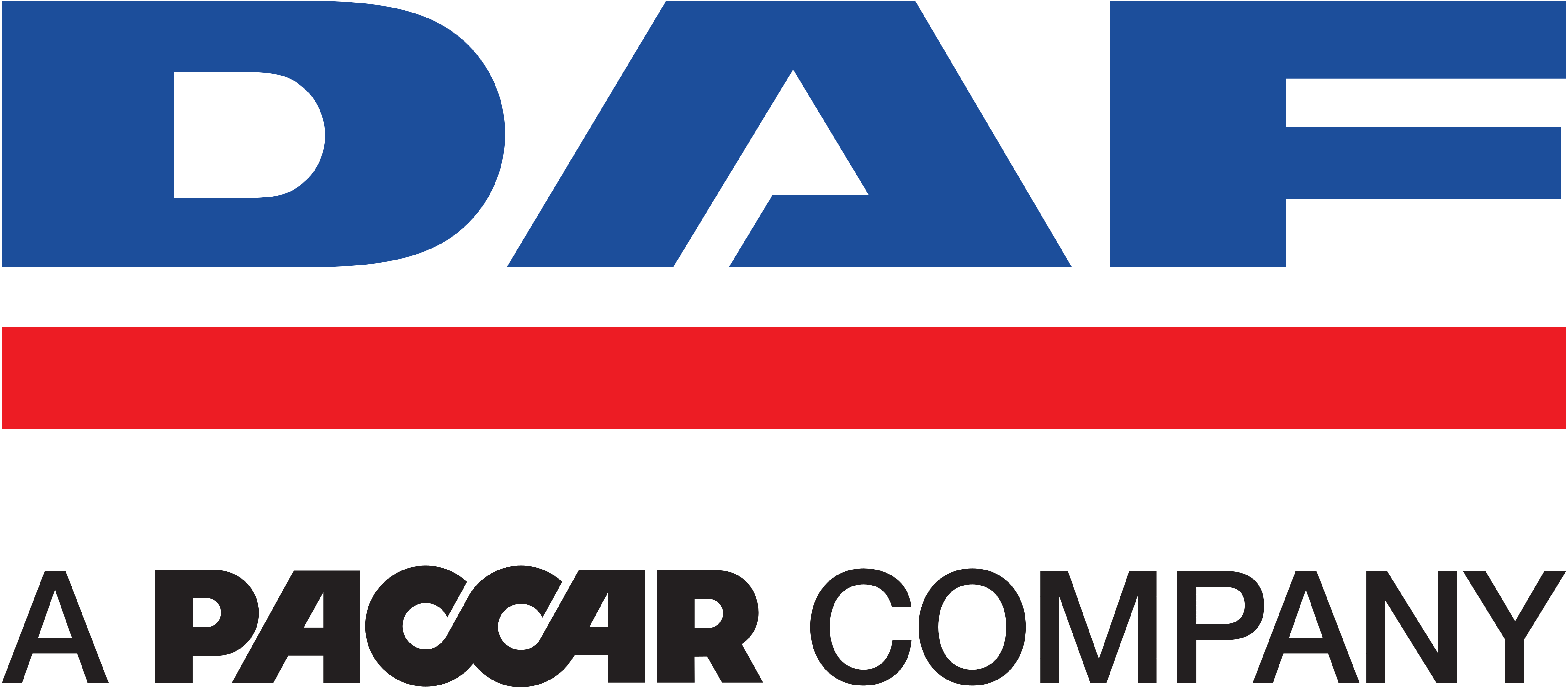 PACCAR Logo - DAF logo with tagline – a paccar company – Logos Download