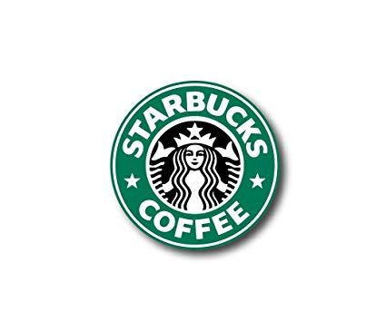 Starbucks Logo - Amazon.com: 3