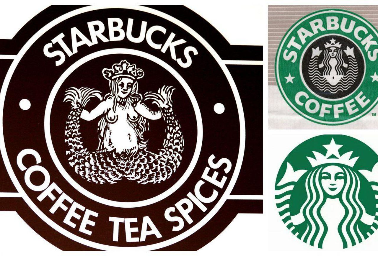 Starbucks Logo - Mermaid, Siren, Princess: How The Starbucks Logo Evolved