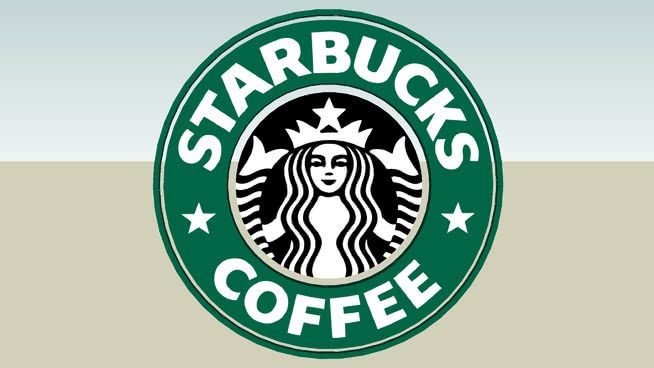 Starbucks Logo - Starbucks Logo | 3D Warehouse