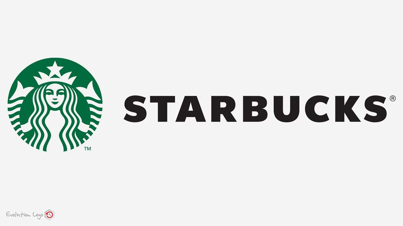 Starbucks Logo - History of the Starbucks logo - YouTube