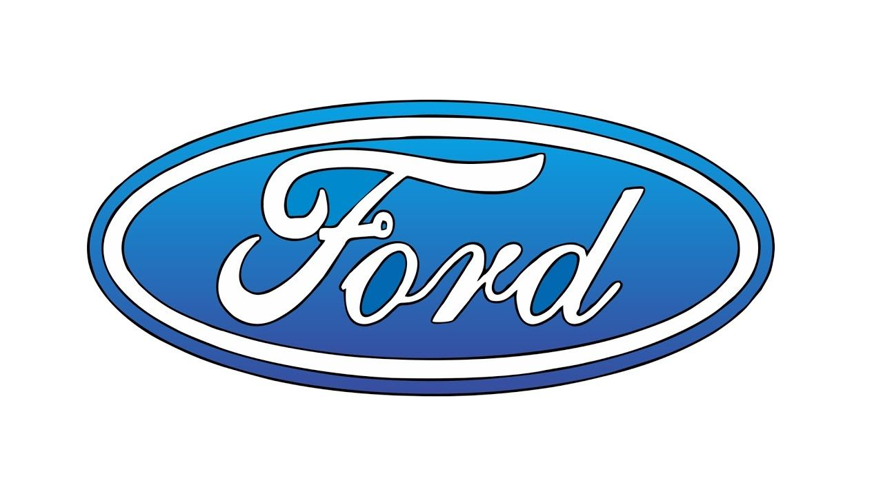 Ford Logo - How to Draw the Ford Logo (symbol, emblem)