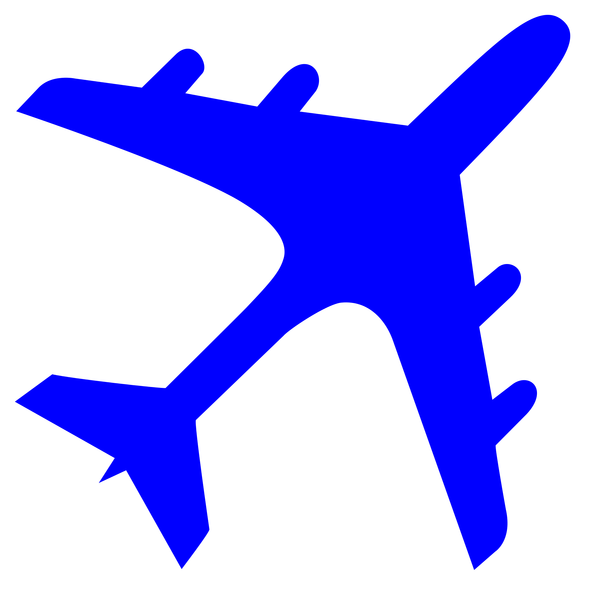 Blue Airplane Logo Logodix