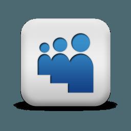 3 Blue People Icon Logo Logodix